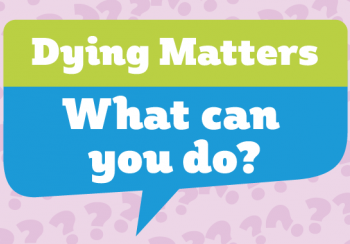 Dying Matters awareness week logo
